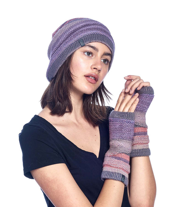 Alpaca Gloves Colorado Berry Shupaca