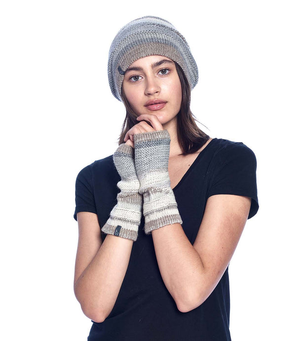 Alpaca Gloves - Colorado - Ivory
