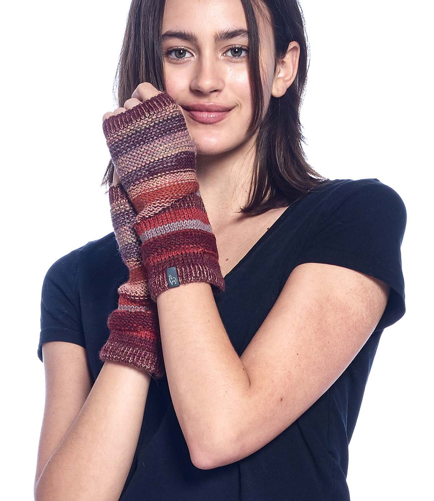 Alpaca Gloves Colorado Autumn by Shupaca