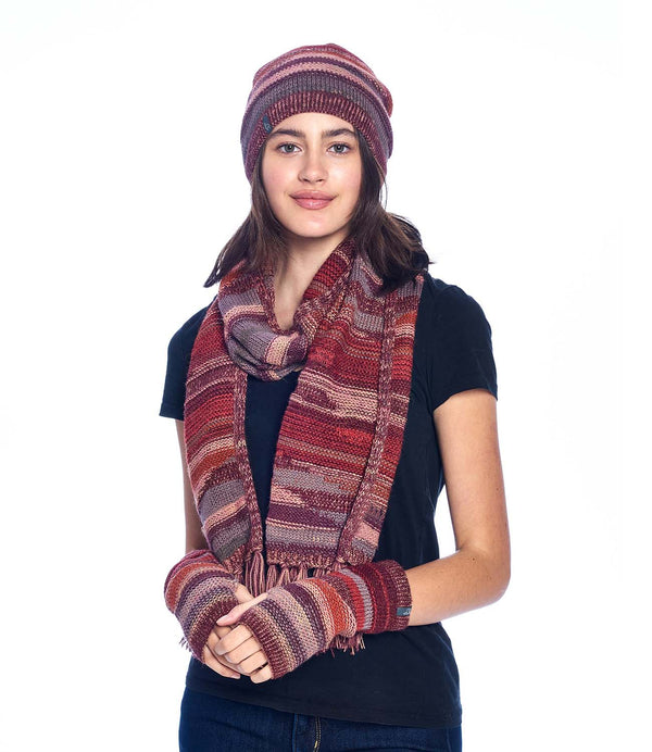 Alpaca Scarf Colorado Autumn Shupaca
