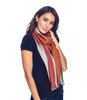 Alpaca Reversible Scarf - Autumn