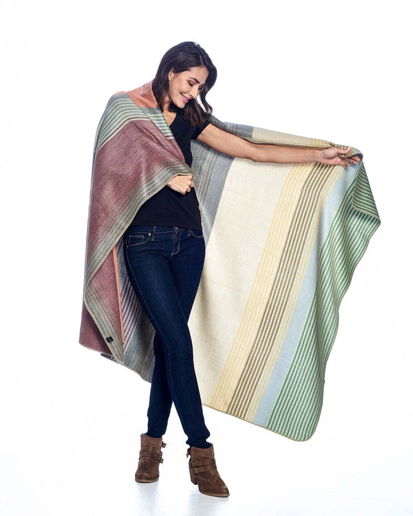 Alpaca Throw - Spectrum