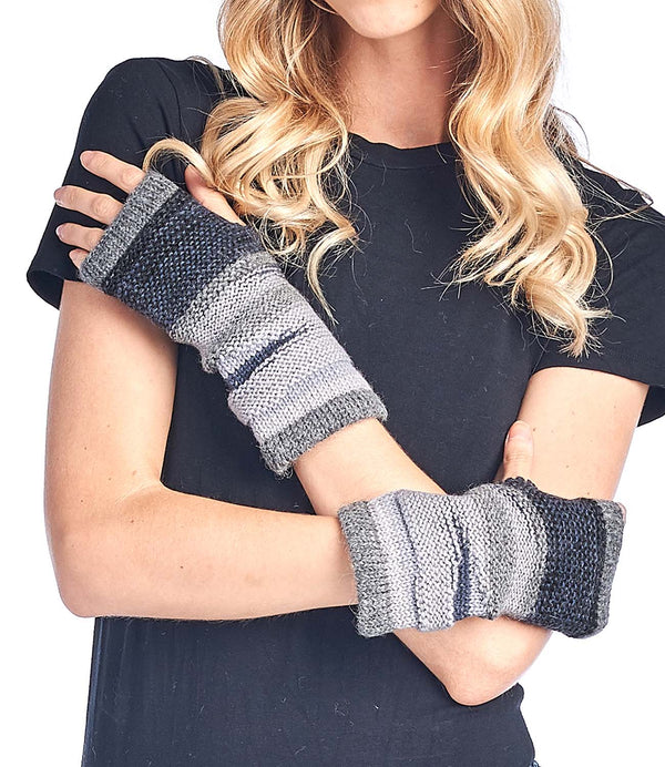 Alpaca Gloves Colorado Charcoal Shupaca