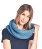 Alpaca Neck Warmer Highland Turquoise by Shupaca