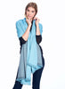 Alpaca Reversible Wrap Cameo Blue by Shupaca