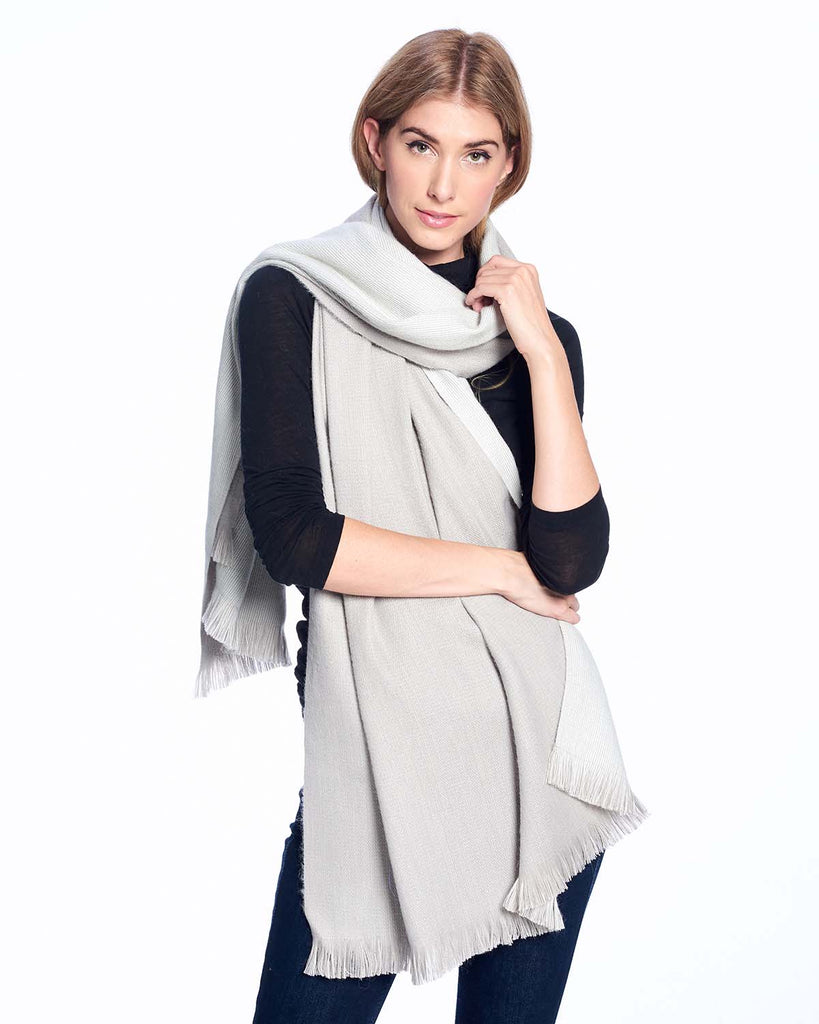 Alpaca Wrap Reversible Polar Drift by Shupaca