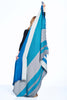 Shupaca Alpaca Reversible Throw Blanket Blue Nile
