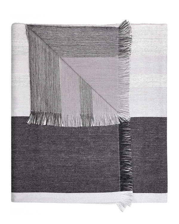 Alpaca Reversible Throw - Monochrome
