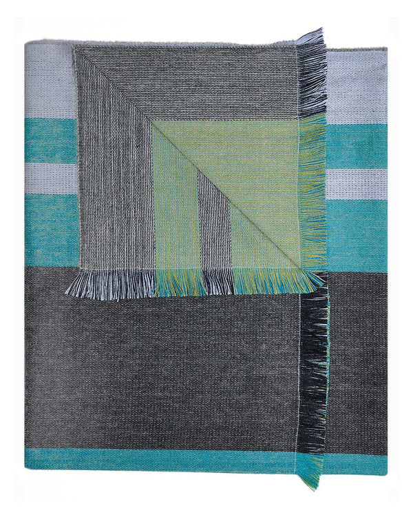 Alpaca Reversible Throw - Weeping Willow