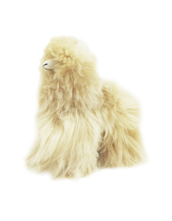Alpaca Stuffed Animal - Alpaca - Small 9""