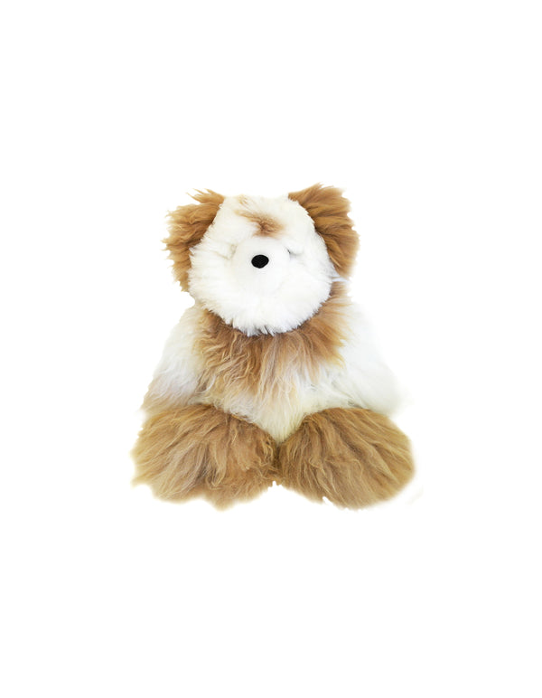 "Shupaca Alpaca Stuffed Animal Bear Small 10"" Mixed"