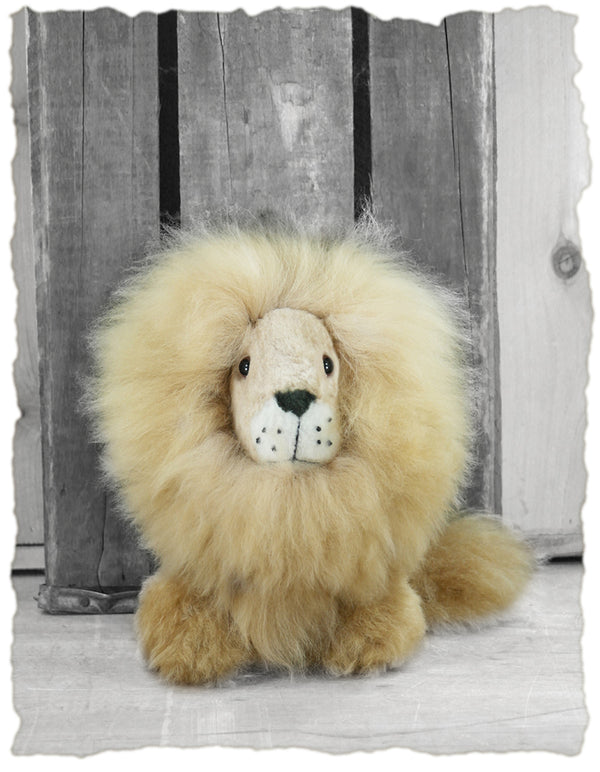 Alpaca Stuffed Animal - Lion 12""