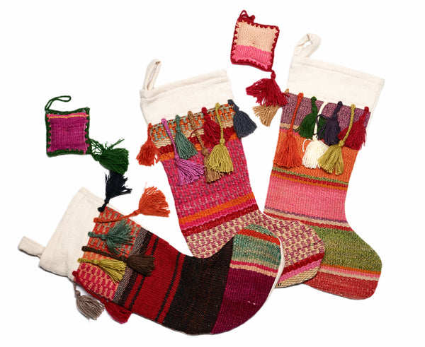 Alpaca Holiday Stockings - Heirloom