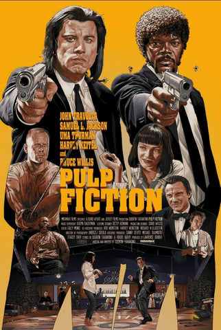 Pulp Fiction (Var) by Juan Carlos Ruiz Burgos