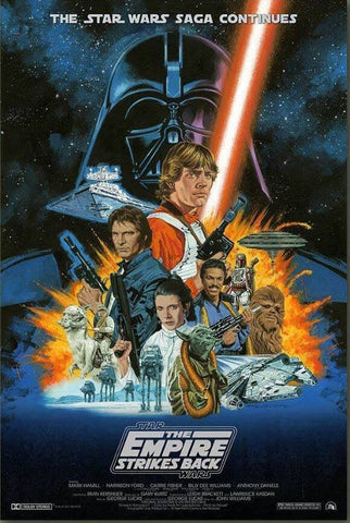 Star Wars - The Empire Strikes Back : By Paul Mann