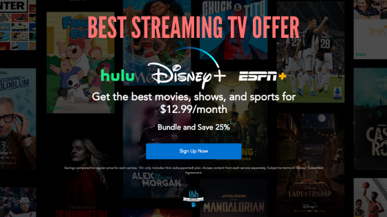 Best streaming TV offer? We think so!