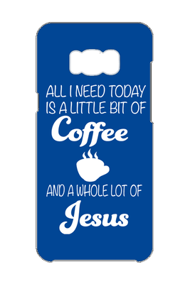 Coffee & Jesus Samsung Galaxy S8 Phone Case