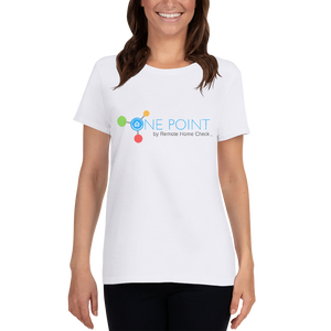 Women's Short Sleeve One Point T-shirt