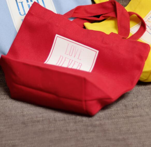 Bright Canvas Bag