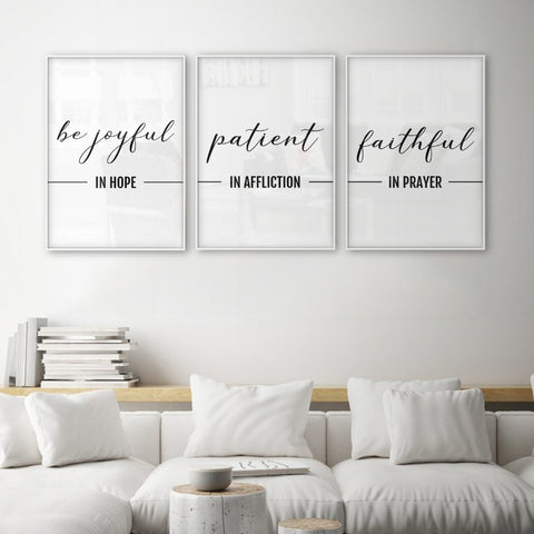 Bible Verses Christian Wall Art