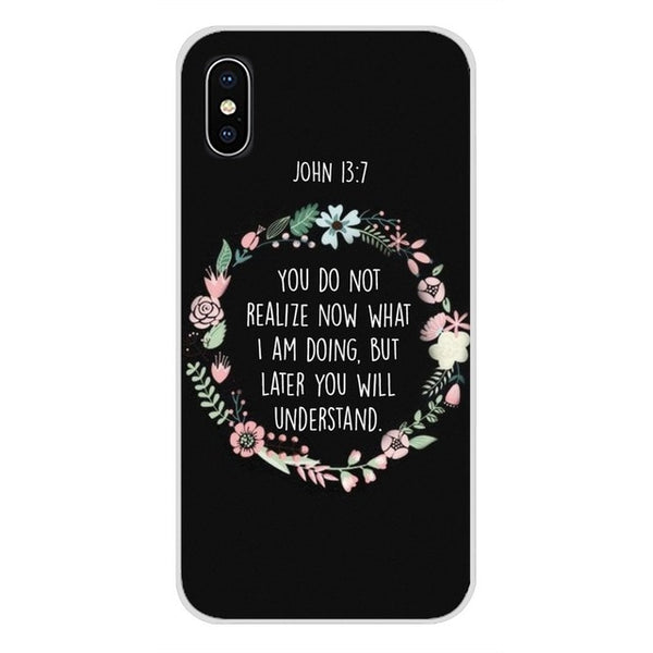 Gorgeous and Uplifting Silicone Skin Phone Case