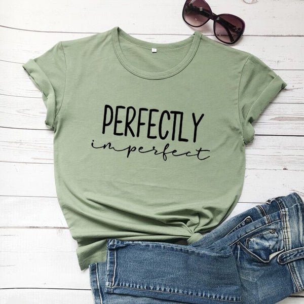 Perfectly Imperfect Ladies' Comfy Cotton Tee