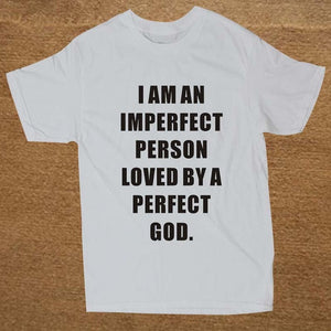 Men's Short Sleeve Imperfect Person Tee
