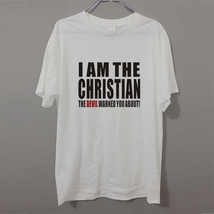 Men's Short Sleeve I am the Christian Tee