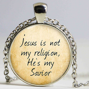 Jesus is My Savior Necklace