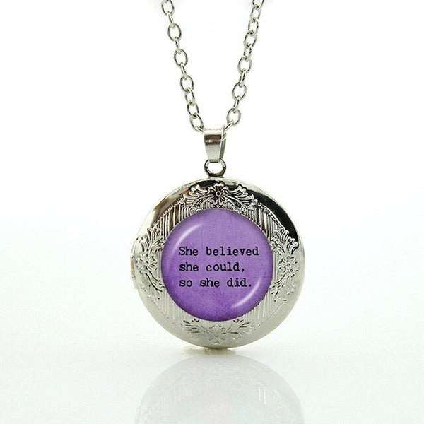 Women's Inspirational Quote Jewelry