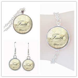Ladies' Faith Jewelry Set