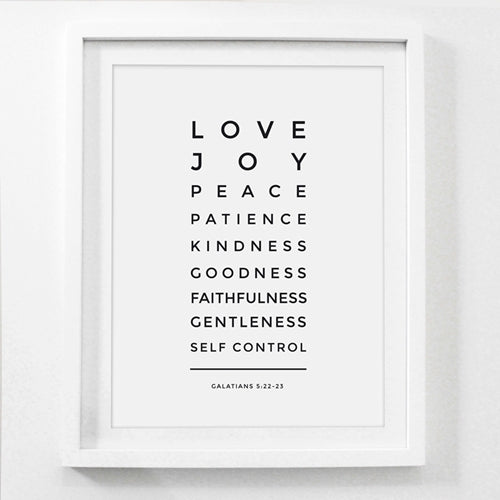 Love is Patient Love is Kind Poster Print