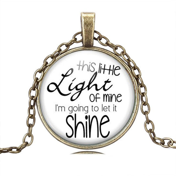 This Little Light of Mine Necklace