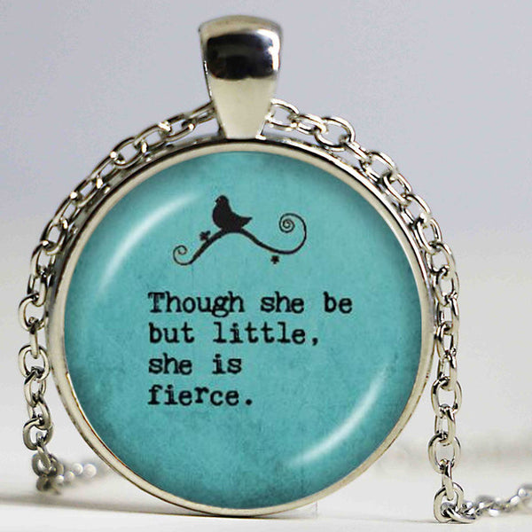 Inspirational Silver Chain Necklace