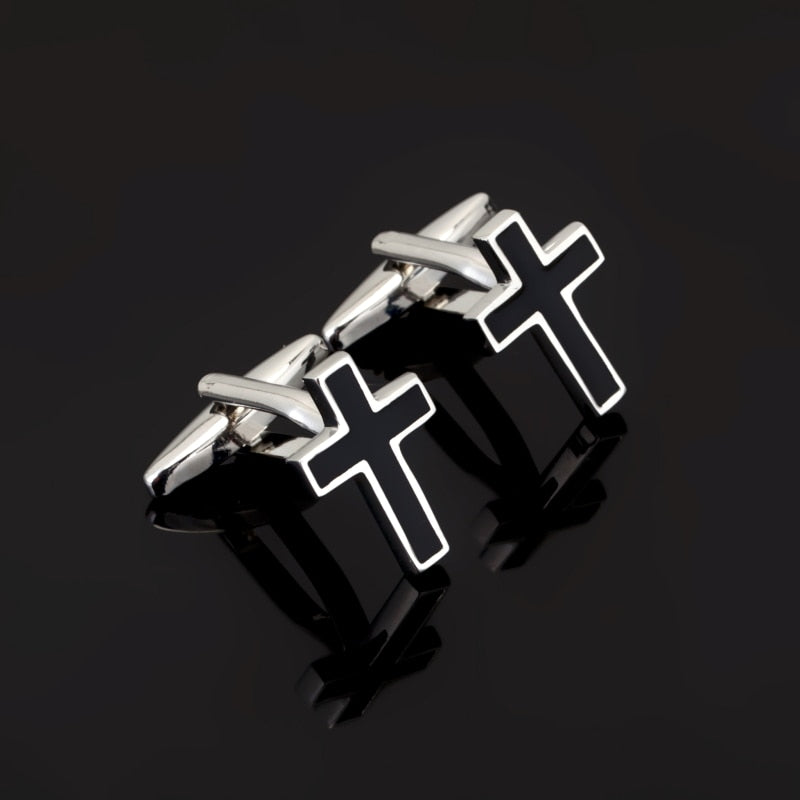Set of Cross Cufflinks