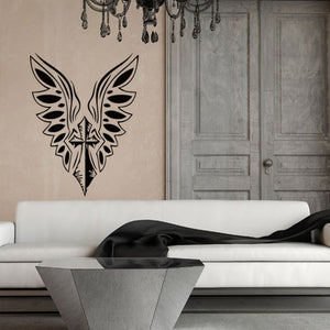 Wings of Faith Wall Decal