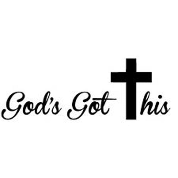 God's Got This Vinyl Car Decal