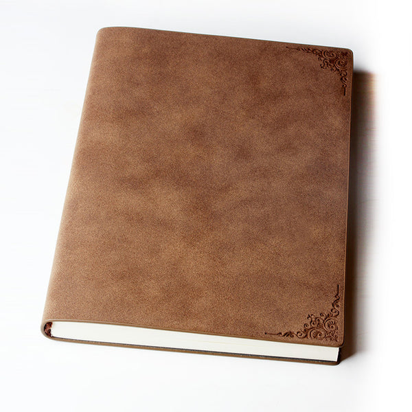 Vintage Leather Annual Planner