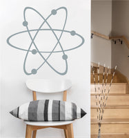 Atom Decal | Vinyl Wall Sticker