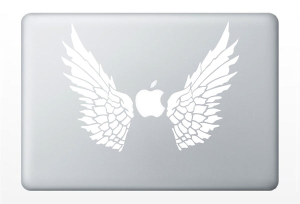 Angel Wings laptop DECAL- macbook iPad computer- vinyl sticker