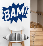 Bam Decal | Vinyl Wall Sticker