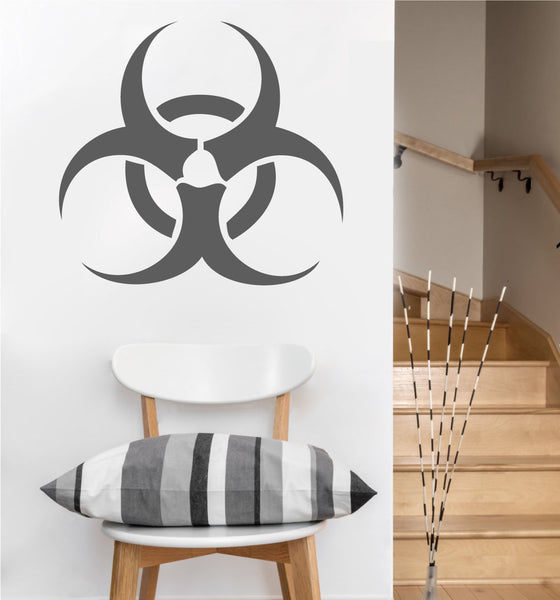 Biohazard Decal | Vinyl Wall Sticker