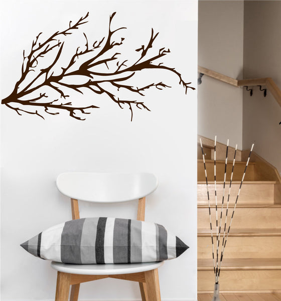 Winter Tree Branch Decal | Vinyl Wall Sticker