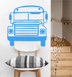 School Bus Decal | Vinyl Wall Sticker