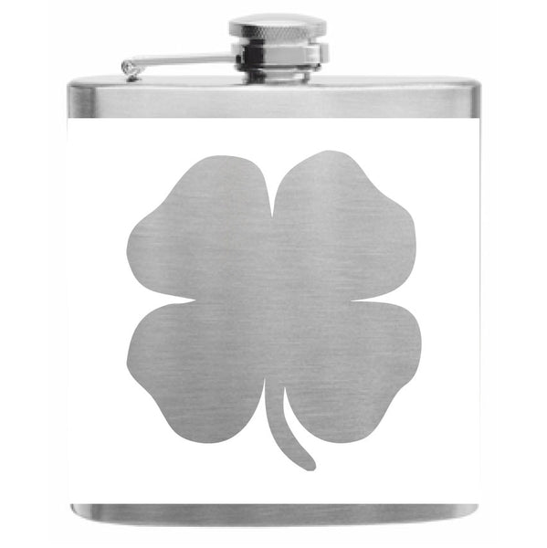 Four Leaf Clover Flask