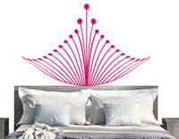 Royal Crown Decal | Headboard Vinyl Wall Sticker