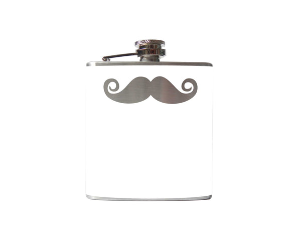 Mustache Flask | Curly