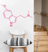 DMT Molecule Decal | Vinyl Wall Sticker