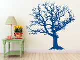 Large Winter Tree Decal | Vinyl Wall Decal