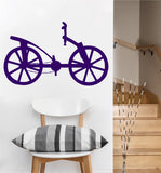DaVinci Bike Decal | Vinyl Wall Sticker